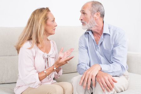 explanations: Wife wants explanations from husband