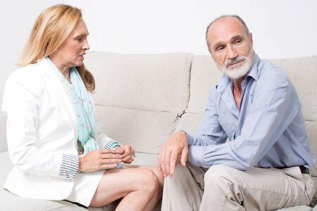major battle: Break up of senior couple
