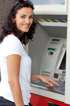 pincode: Woman at the ATM