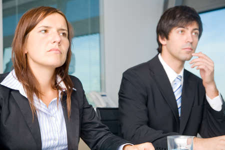 Businessteam in negotiations photo