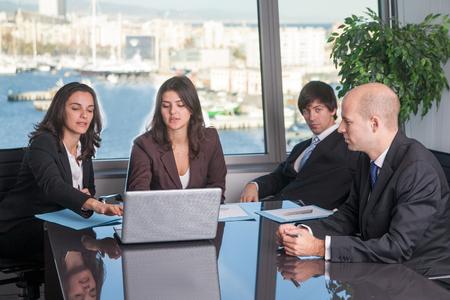 Staff meeting photo