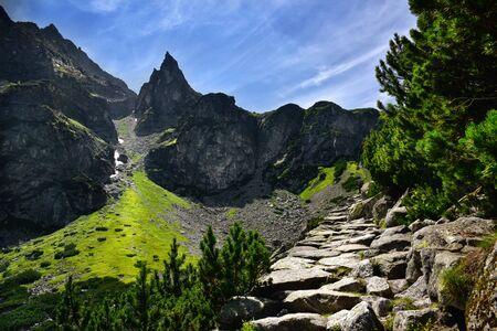 mnich: Landscape of Mnich peak in Tatras