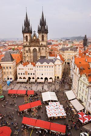 praga: Old town square of Praga