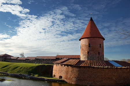 kaunas: Ancient castle of Kaunas in Lithuania