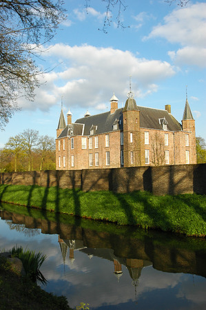 contributing: The Zuylen castle is located just outside Utrecht, in the village of Oud-Zuilen.  The castle was originally built in the 13th century, and parts of it still date from the 16th century, contributing to the castles medieval appearance. Editorial