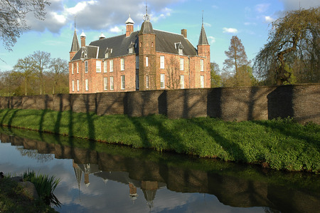 contributing: The Zuylen castle is located just outside Utrecht, in the village of Oud-Zuilen.  The castle was originally built in the 13th century, and parts of it still date from the 16th century, contributing to the castle?s medieval appearance. Editorial