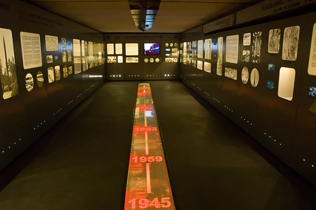 Museum of the Cold War, the escalation of the Cold War.