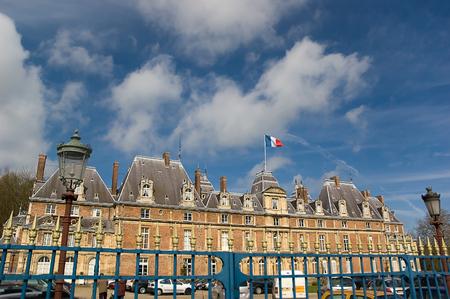 chateau: Chateau dEu in Normandy