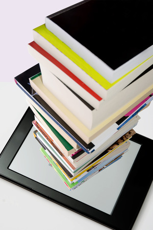 ereader: portability of books within a tablet or e-reader