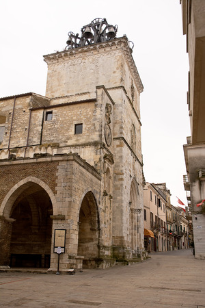 Church of Holy Maria Major in Guardiagrele (Abruzzo-Italy)