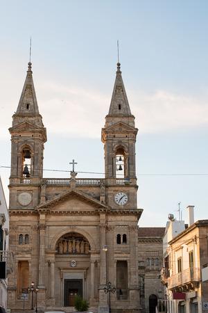 medici: Church of ss. medici cosma and damiano in Alberobello (Puglia)