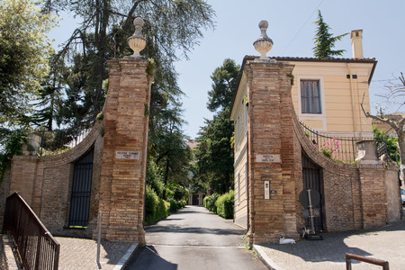 theological: Gate of Pontificial Seminary of Abruzzo and Molise