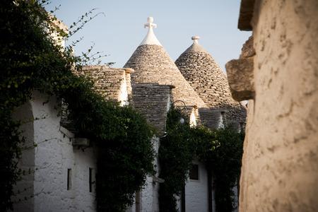 Trulli: typical habitation of apulia