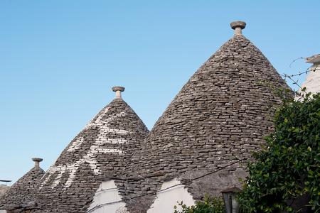habitation: Trulli: typical habitation of apulia