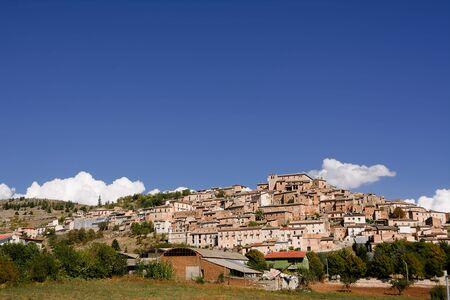 crucifixes: Navelli, small village of Abruzzo.