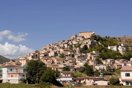 abruzzo: Navelli, small village of Abruzzo.