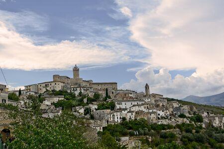 abruzzo: Capestrano, small village in Abruzzo (italy) Stock Photo