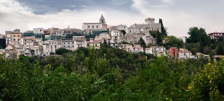 abruzzo: Bussi sul Tirino is a small village in Abruzzo (Italy) Stock Photo