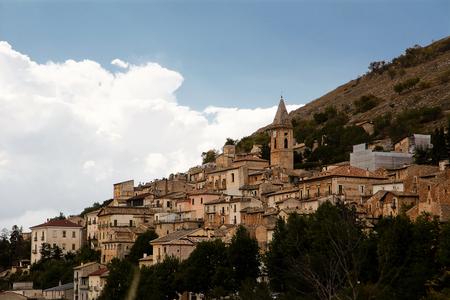appennino: Calascio is a small village in Abruzzo (Italy)