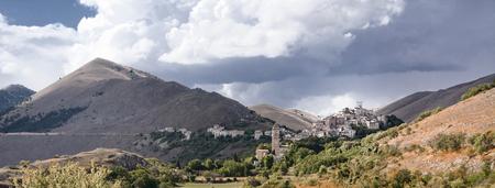 appennino: Santo Stefano di Sessanio is a small village in Abruzzo(Italy) Stock Photo