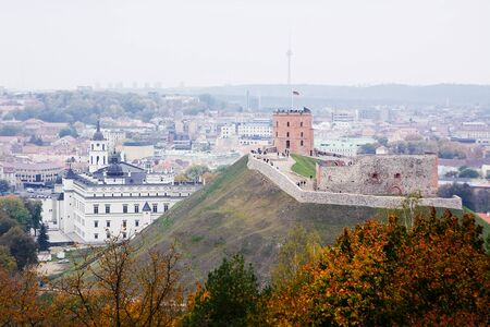 lithuania: Gediminas Castle in Vilnius (Lithuania)