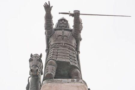 duke: Monumento of Duke of Lithuania in Vilnius
