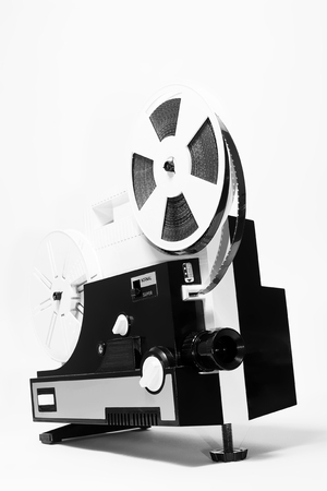 super 8: Old super 8 projector Stock Photo