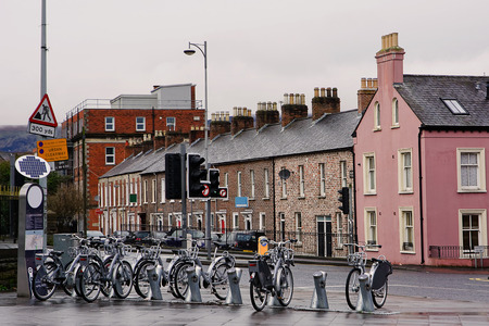 shared sharing: Bicycle sharing in Belfast