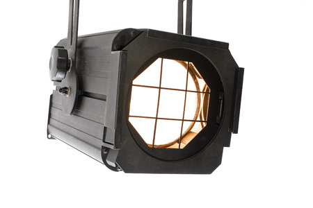 monolight: Lightspot for stage on white background