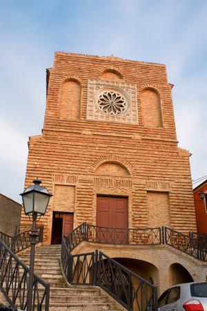 michael the archangel: Church of Saint Michael Archangel in Miglianico (Italy)