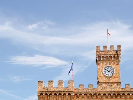barrack: Spinucci Castle in Chieti (Italy)