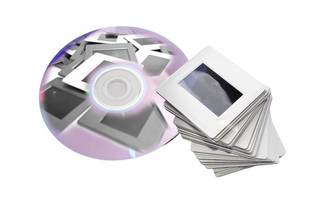 writable: old slides and new dvd: two image archiving systems