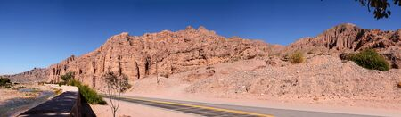 siete: Badlands on Ruta 9 near Tilcara (Argentina)