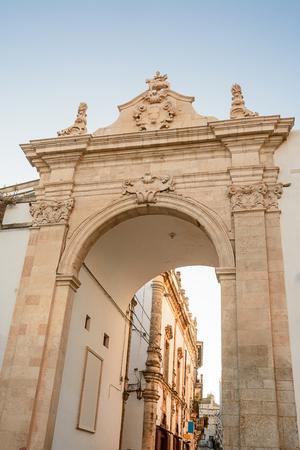 Arch of St. Anthony at Martina Franca (Italy)