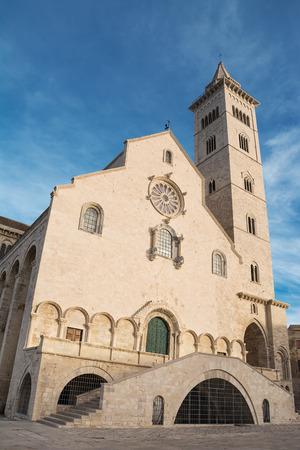 Cathedral built near the sea in Puglia