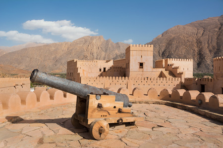 Cannon in Nakhal fort (Oman)