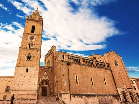 Cathedral of San Giustino in Chieti (Italy)