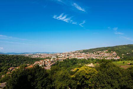 Panorama of Veliko Tarnovo (Bulgaria)
