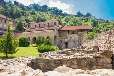 The Holy Forty Martyrs Church is a medieval church constructed in 1230 in Veliko Tarnovo, the former capital of the Second Bulgarian Empire. 免版税图像
