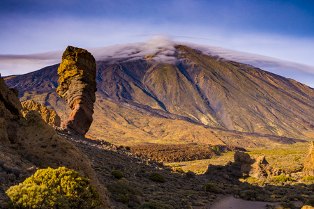 Teide mountain peak in Tenerife