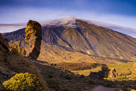 Teide mountain peak in Tenerife