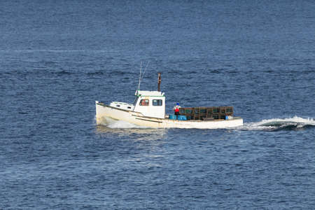 Maine Lobster Boat photo