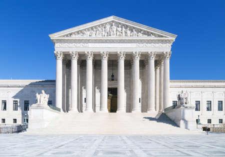 Washington, DC - US Supreme Court gebouw