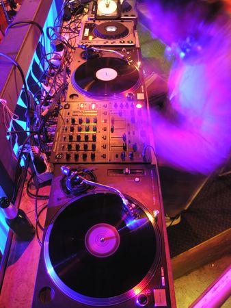 fiesta dj: DJ's equipo de m�sica