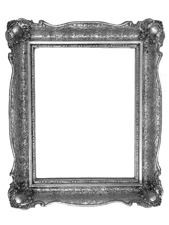 Classical oldfashion retro silver frame,