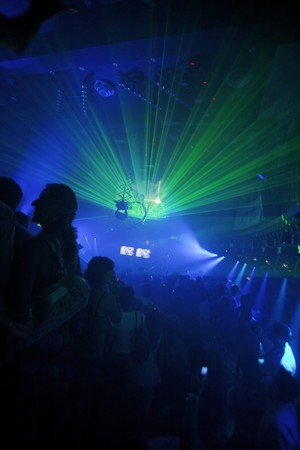 laser lights: Night Club Music Event Party Laser Lights Background