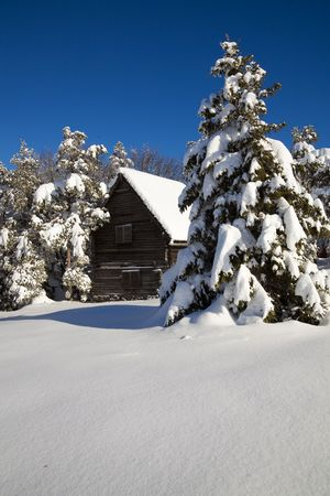 Serbia, Divcibare, mountain house Stock Photo - 6158036