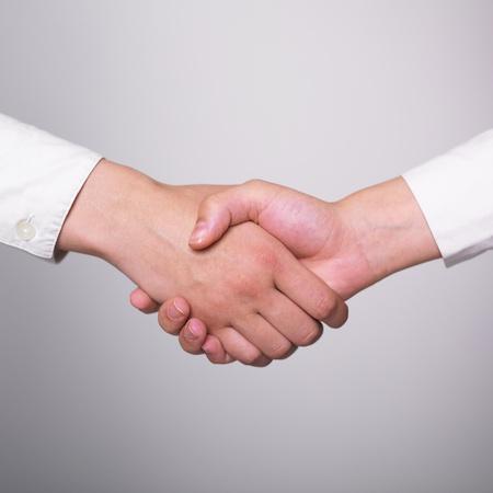Two hands in Handshake - Business Handshaking