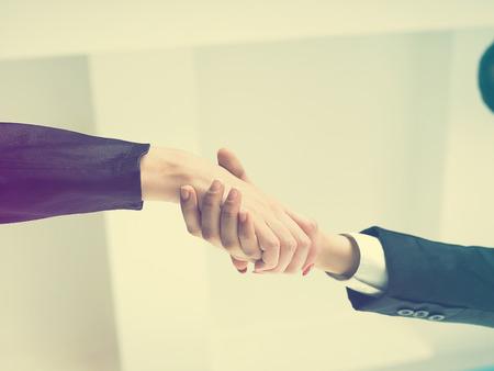 good bey: Office Handshake Handshaking low angle top