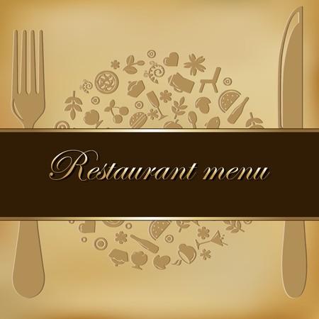 Restaurant Menu Design, Vector Illustration Vector